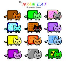 nyan cats friends - Google Search