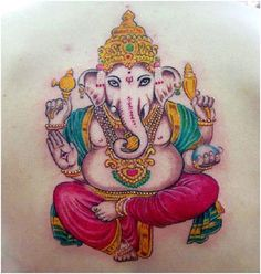 Best Ganesh Tattoos – Our Top 10
