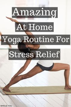 yoga for stress relief, yoga videos for stress relief, yoga sequence for stress relief, yoga for beginners. Flexibility Training, Yoga For Flexibility, Weight Loss Motivation, Fitness Motivation, Lose Fat Workout, Yoga For Balance, Different Types Of Yoga, Yoga For Stress Relief, Breathing Techniques