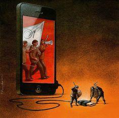 Pawel Kuczynski'den Toplumsal Sisteme Göndermelerle Bezeli 26 Yeni İllüstrasyon