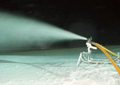 Mother Nature Not Cooperating? Make Snow Yourself: Got a garden hose or pressure washer with a spray mister? If the temperature is cold enough, you can make snow yourself.