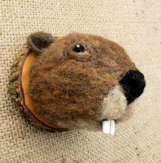 Bob, the Beaver  (www.feltfactory.com)