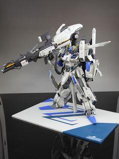 MG 1/100 Gundam FAZZ - Customized Build