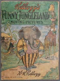 A KELLOGG'S FUNNY JUNGLELAND MOVING PICTURES BOOK