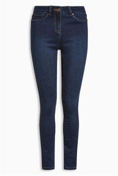 Buy Dark Blue Wash Denim Leggings from the Next UK online shop Blue Leggings, Denim Leggings, Pjs, Blue Denim, Dark Blue, Skinny Jeans, Lady, Winter 2017, Uk Online