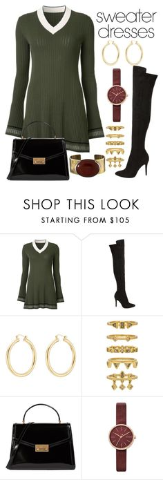 """""""Untitled #1065"""" by chelebell ❤ liked on Polyvore featuring Misha Nonoo, Charles by Charles David, Isabel Marant, Luv Aj, Tory Burch, Skagen and Orduna Design"""