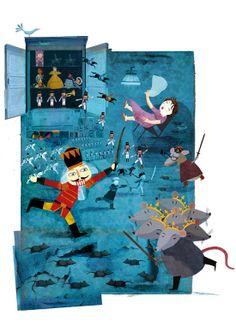 Der Nussknacker by Alistar Illustration, via Behance