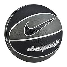 Nike Dominate Basketball, Unisex, Nk Dominate, Gris / Negro / Blanco (Dark
