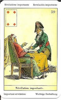 Sibilla Oracle (La Sibylle des Salons) Card Meanings – Golden Mousedeer Ace Of Hearts, Tarot Meanings, Remember The Name, Cartomancy, Good News, Meant To Be, Funny, Salons, Cards