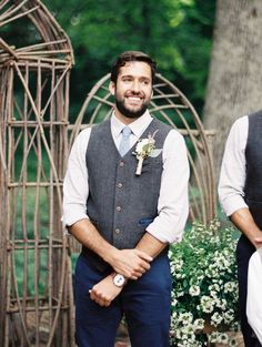 The dapper groom: http://www.stylemepretty.com/little-black-book-blog/2015/08/28/rustic-romantic-wisconsin-barn-wedding/   Photography: Kate Weinstein - http://www.kateweinsteinphoto.com/