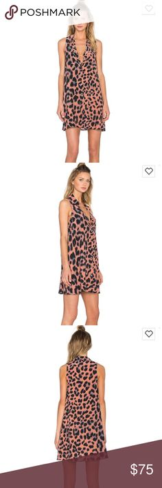 Equipment Mina Leopard Print Dress Only worn a few times. Excellent condition. 100% silk! Open to offers. Equipment Dresses