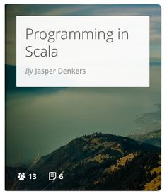 An introduction to the both functional and object-oriented programming language Scala. #programming #coding #scala