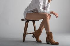Maya McQueen Harper Boots in Camel - http://aquaboutique.com.au/shop/mayamcquenn-harper-boots-camel/