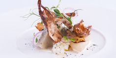 Lisa Allen's combination of globe and Jerusalem artichokes for this starter makes a fantastic vegetarian recipe, offering a beautiful contrast of textures and flavours.