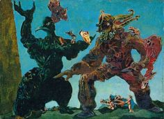 Max Ernst - The Barbarians, 1937 via max-ernst.com