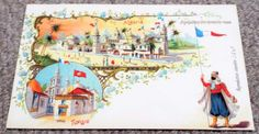 Algeria - Paris Exposition Universelle Undivided Back 1900 World Fair Postcard Paris 1900, World's Fair, Taj Mahal, Postcards, Heaven, Painting, Art, Art Background, Sky