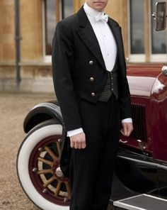 ♔ Matt Milne as Downton Abbey's Alfred Nugent