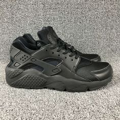 the latest a6061 9df8c achat Uk New Nike Air Huarache EUR 36-45 All Black Noir 634835 012 Youth  Big Boys Shoes