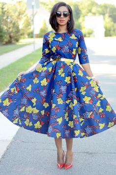 25 Fashion Fabulous African Style Outfits for Work - African Vibes Magazine African Dresses For Women, African Print Dresses, Dress Shirts For Women, African Print Fashion, Africa Fashion, African Fashion Dresses, Fashion Outfits, African Prints, African Attire Patterns