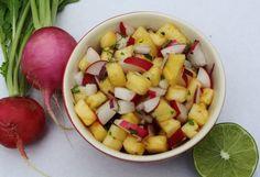 Easy Pineapple Radish Salsa