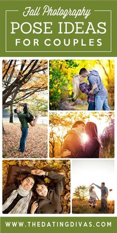 Fall photography ideas for couples!! These ideas are so CUTE!!