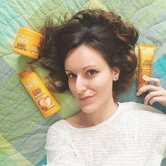 Da oggi i prodotti #Fructis cambiano volto e ci regalano dei #SuperCapelli! Grazie alla gamma ispirata ai #SuperFrutti, tutta dermatologicamente testata e senza parabeni. 🌿 #GarnierAmbassador #haircare #hairbeauty #ibbloggers