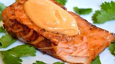 Sriracha is star ingredient in this easy sauce that really goes on anything, a turkey burger, steak salad, dipping sauce for shrimp, or sauce for salmon. Great stuff.