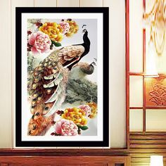 Cheap picture sale, Buy Quality pictures of flowers decorations directly from China decorated model homes pictures Suppliers: 	  			  New 5D DIY Diamond Embroidery Cross stitch Magnolia Flower Crystal Round Diamond Flower and Bird Adornment