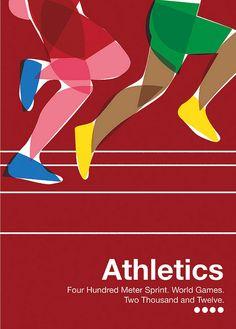 World Games - 2012 running athletics illustration sprint Sports Graphic Design, Graphic Design Posters, Graphic Design Illustration, Sports Day Poster, Marathon Posters, Running Posters, Framed Art Prints, Olympics, Athlete