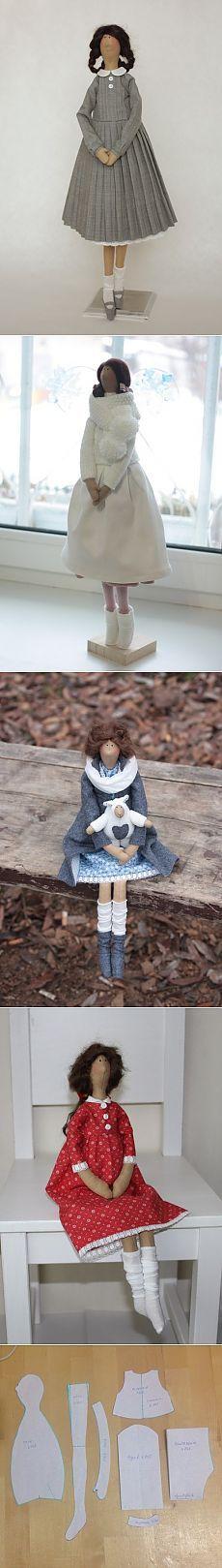 Tilda Yulia Rodionova con los patrones de autor Tilda muñecas de Marina…