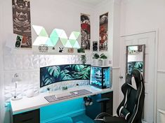 ❄️ What accent color would you have chosen for this setup? 🤔 Comment down below ⬇️ Via 📸 u/DeHorner Check out gamingapt300.com for accessories, decor, and posters for your gaming room!  #gamer #gaming #geforce #razer #pc #gamingpc #pcsetup #funkopop #pcmr #pcmasterrace #watercooling #gamingislife #gamingcommunity #gamerforlife #nvidia #rgb #twitchstream #popfunko #ps4 #gaminglife #watercooled #monitor #streamer #twitchstreamer #pcgaming #gamingsetups #gamingsetup #pcgamer #gamerpc