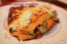 Clatite sarate umplute cu vinete - Retete culinare by Teo's Kitchen