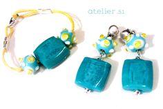 #Pendientes #Earrings #Pulseras #Bracelets www.facebook.com/atelier51.Plasencia www.atelier51handmade.com
