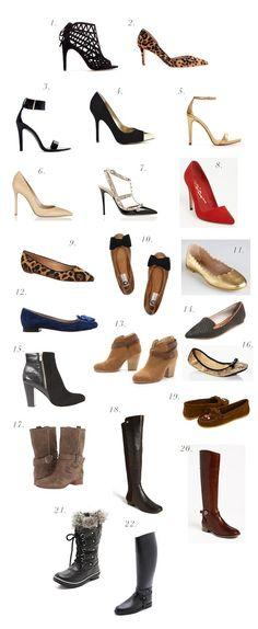 An Ideal Shoe Wardrobe