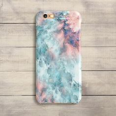 iPhoneCaseUA on Esty Pink Pastel Marble Case iPhone 7 Plus iPhone SE iPhone 6S iPhone 6 Plus iPhone 5 5S 5C Galaxy S5 S6 S6 S7 Edge Samsung Note 4 Blue Case #iphone6splus, #iphone5s #iphone7pluscase