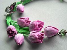 Polymerclayfimo:  Изделия - цветочные украшения