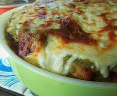 Salsa Verde Carnitas Tamale Pie HispanicKitchen.com