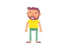 Man illustration by Nicholas Hendrickx (ukaaa)