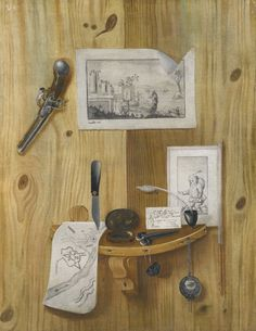 Attributed to Benedetto Sartori A PAIR OF TROMPE L'OEIL STILL LIFES Estimate  5,000 — 7,000  GBP  LOT SOLD. 6,250 GBP (Hammer Price with Buyer's Premium)