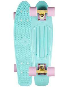 Penny Pastels Original Skateboard Mint One Size For Men 23861652301 from Tilly's. Board Skateboard, Penny Skateboard, Longboard Design, Skateboard Design, Original Skateboards, Surf, Senior Gifts, Artsy Photos, Skater Girls