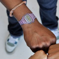 you're late! temporary watch #tattoo.  hilarity