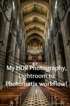 Jesse Martineau lets you in to his HDR photography Lightroom to Photomatix workflow. Don't turn your nose up at HDR, Jesse says some very smart things! Hdr Photography, Lightroom, Lights, Architecture, Pretty, Arquitetura, Lighting, Architecture Design, Rope Lighting