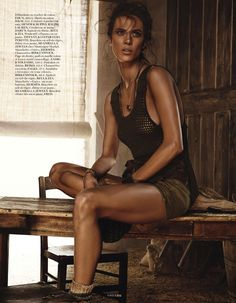 canicule: aymeline valade by giampaolo sgura for vogue paris june 2013 | visual optimism; fashion editorials, shows, campaigns & more!