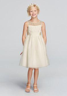 David's Bridal Juniors Wonder by Jenny Packham Style JP171657 Flower Girl Dress photo