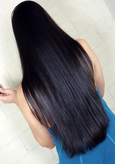 Long Black Hair, Fantasy, Long Hair Styles, Blog, Beauty, Beautiful, Wavy Hair, Smooth Hair, Long Hair