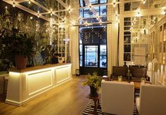 A seriously hip boutique hotel located close to the centre of Barcelona - includes a welcome drink