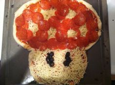 One Up!!! Super Mario pizza