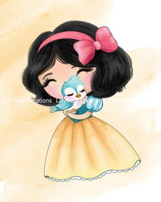 Watercolor Mixing, Watercolor Art, Cute Disney, Disney Art, Cute Princess, Disney Princess, Jasmine Disney, Baby Disney Characters, Elsa Frozen