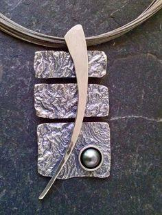 Impartial 925 Sterling Silver Vintage Mexico Black Onyx Half Circle Pin Brooch Fine