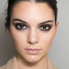 Will the smokey eye ever go out of style? This season, wear with nude lips and dewy skin.